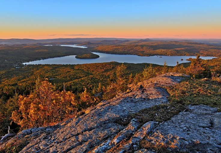 View from Mount Adstock, Quebec