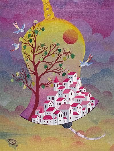 Alejandro CostasMi Favorito, Boards Painting, Alejandro Costa, Naive Art, Mis Preferido, My Homeland, Argentine Painters, Dear Patrias, Pintura Naif