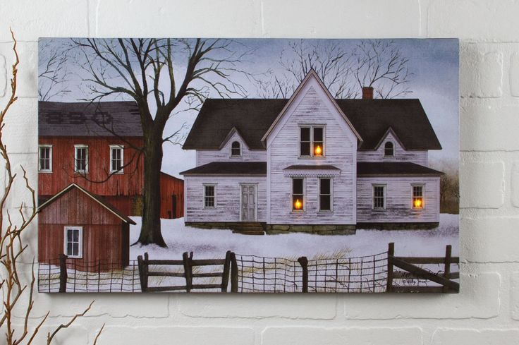 Radiance Lighted Canvas Billy Jacobs Farmstead