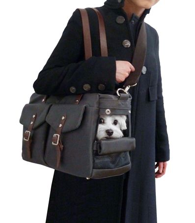 Designer Dog Purse Carrier, Small Dog Carrier Bag,マルチーズ チワワ ドッグキャリー, сумка для собак. - MICRO POOCH™