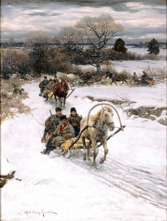 1000 Images About Alfred Wierusz Kowalski 1849 1915 On