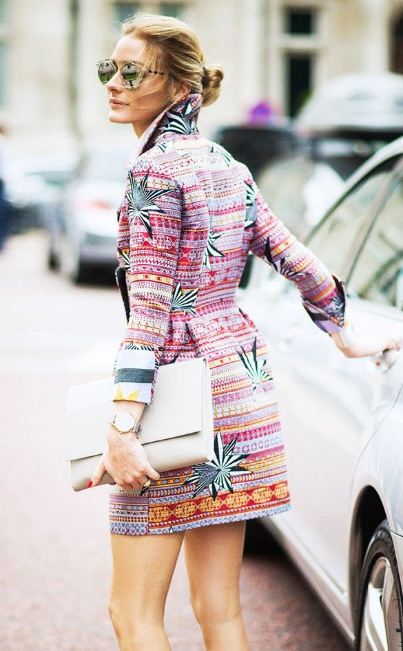 The Olivia Palermo Guide to Accessorizing Like a Pro via @WhoWhatWear