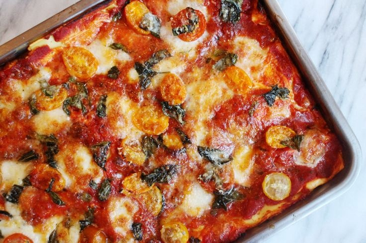 Dat lasagne geen hogere wiskunde is, weten we allemaal. Tochis het fijn als je blindelings kan…
