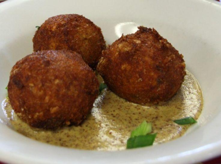 Boudin balls recipe pork warm and cajun rice