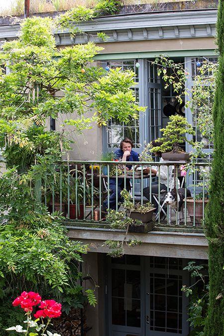 Antwerp home of furniture maker Antoine Vandewoude; one of his earliest clients was Dries van Noten