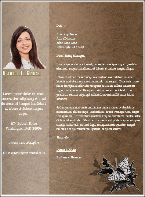 11 best images about Resume Template Microsoft