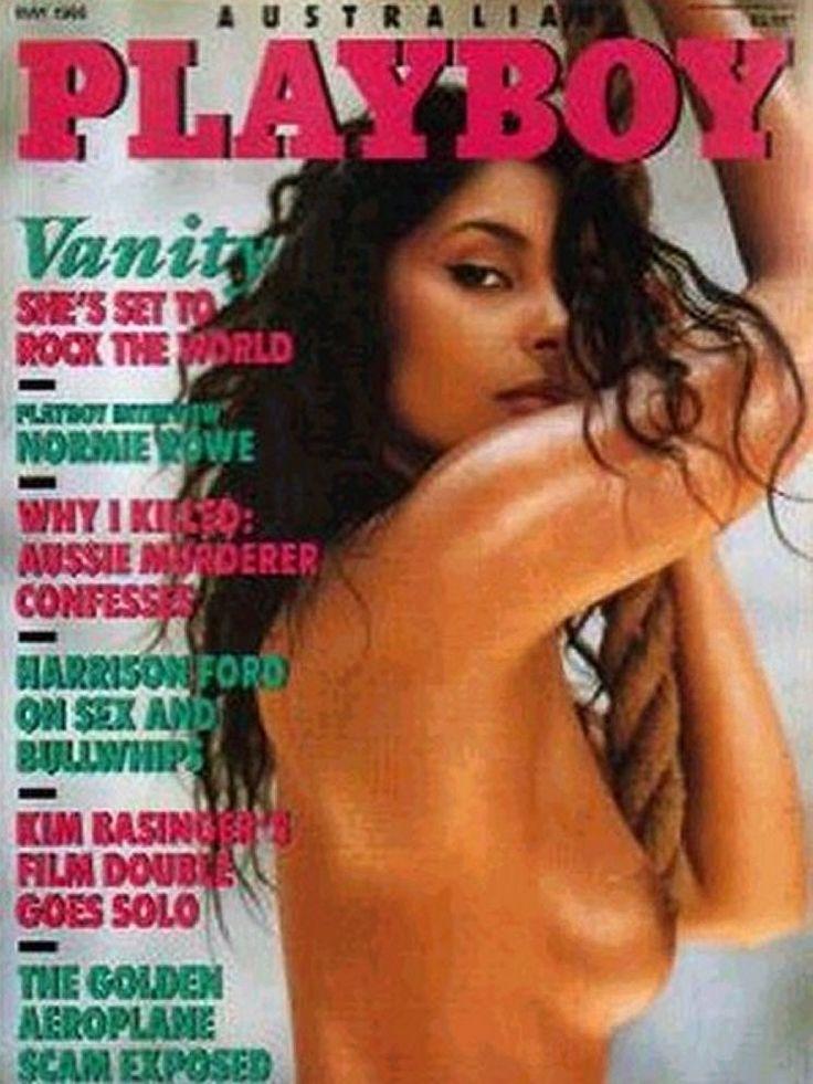 vanity naked in playboy
