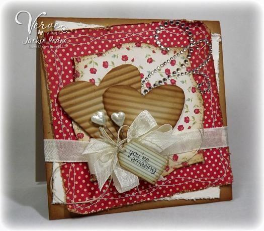 Sweet & Shabby Valentine's Card...