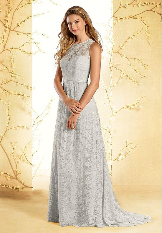 Lace A-Line Sweetheart Bridesmaid Dress | Style 535 by Alfred Angelo |  http://trib.al/nSwxauc