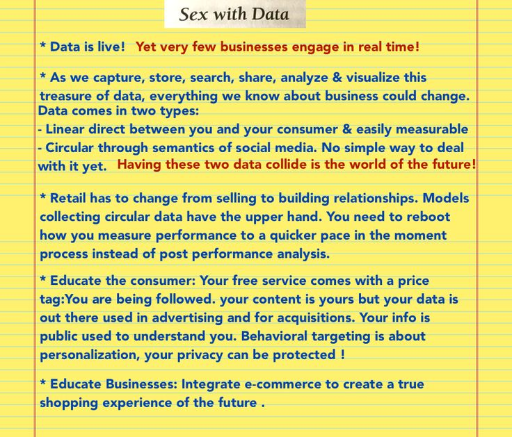 Chapter 4: Reboot you / Sex With Data