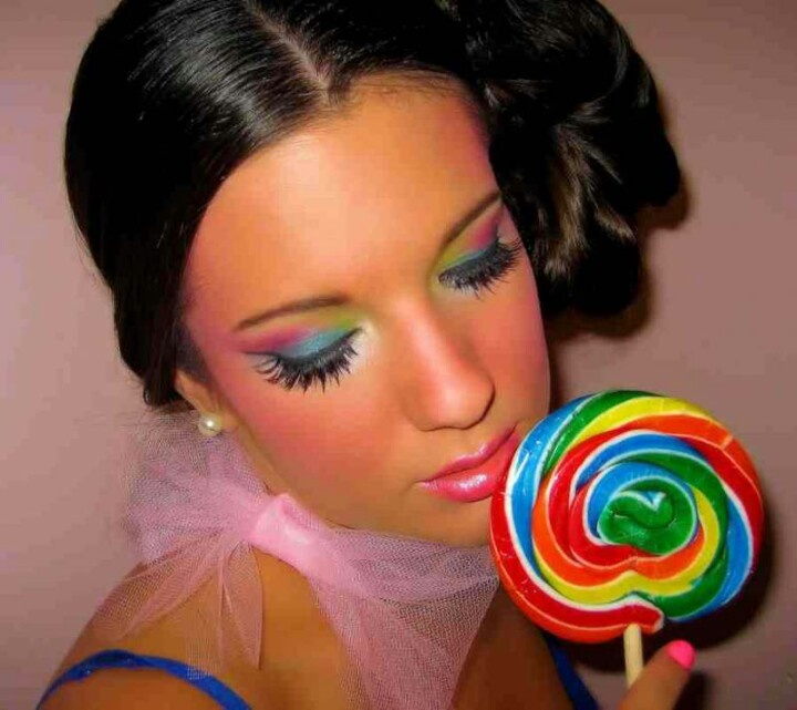 Rockabilly Makeup Photoshoot By Paloma Ortiz: Candyland Makeup Photoshoot By Paloma Ortiz