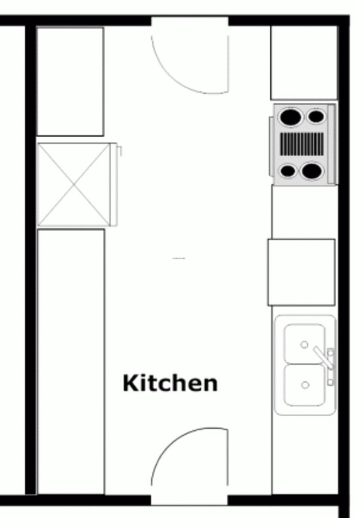 Best Ideas About Galley Kitchen Layouts On Pinterest Kitchen - Small kitchen design layouts