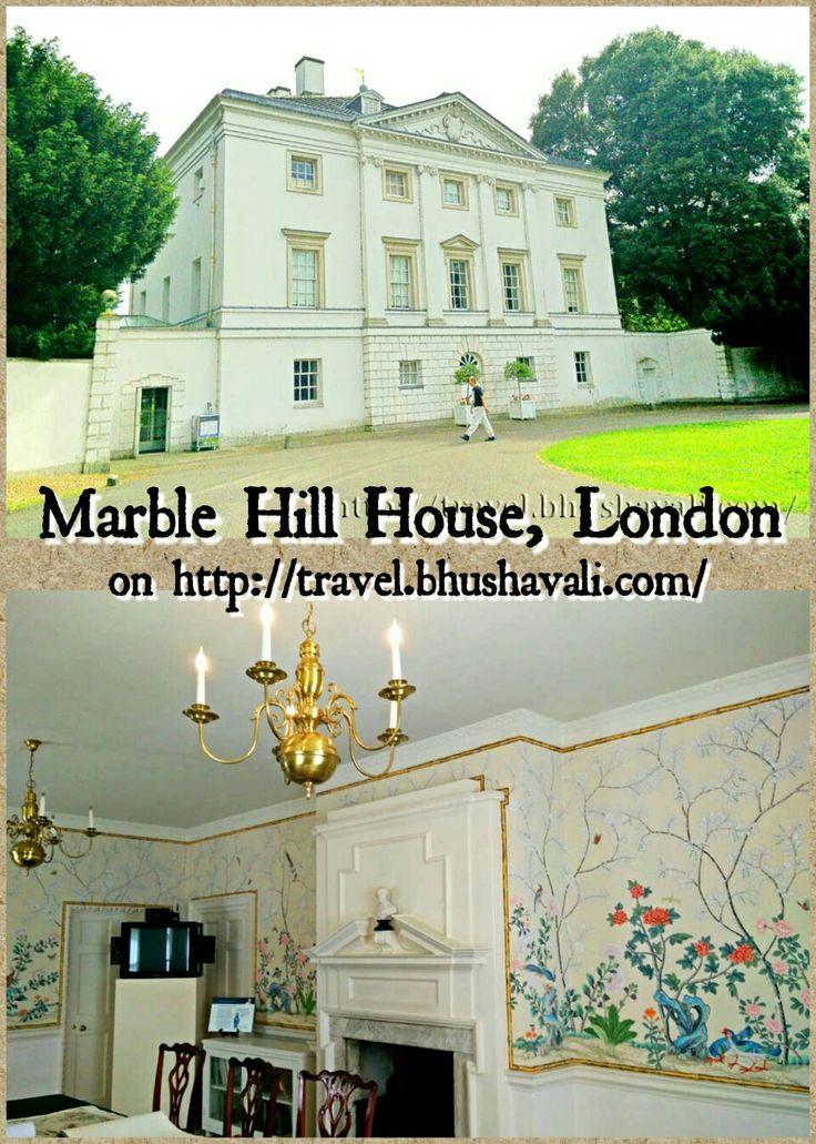 A simple palace or a palatial home... #travelblog #photoblog #travelblogger #ttop #VisitLondon #VisitEngland #LoveGreatBritain #Heritage #History #EnglishHeritage #MarbleHillHouse