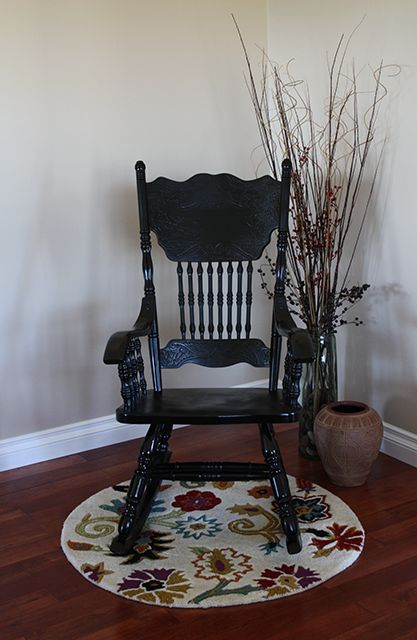 I have a sturdy, old rocking chair that I need to revamp. Perhaps this process will work
