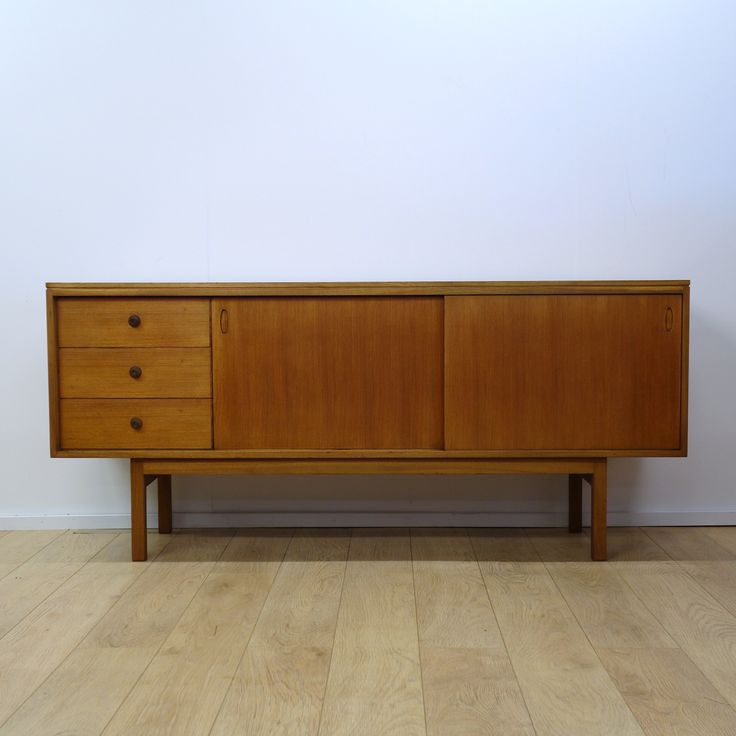 Buy Retro teak sideboard by Gordon Russell from Mark Parrish Mid Century Modern Furniture, Midcentury Design.