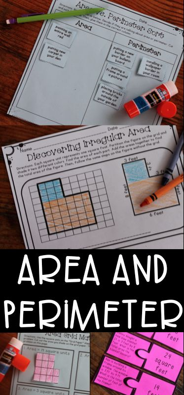 Area and Perimeter Unit with games, anchor charts, assessments, and worksheets! Great for common core math! This can be used during math workshop, small groups, or as homework!