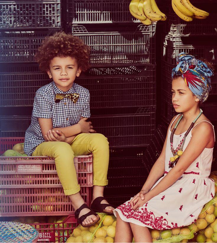 @MANGO_KIDS  #afrocubano April - SS'16