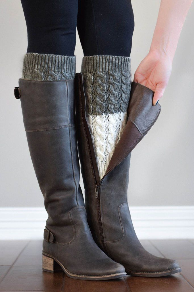 1000 Ideas About Knitted Boot Cuffs On Pinterest Boot