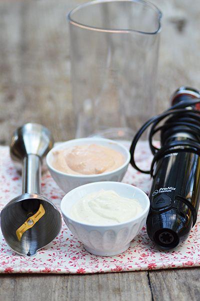 Les gourmandises d'Isa: MAYONNAISE INRATABLE AU MIXEUR PLONGEUR