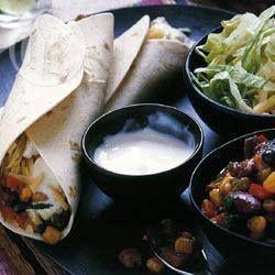 Mexicaanse burrito's met bonen