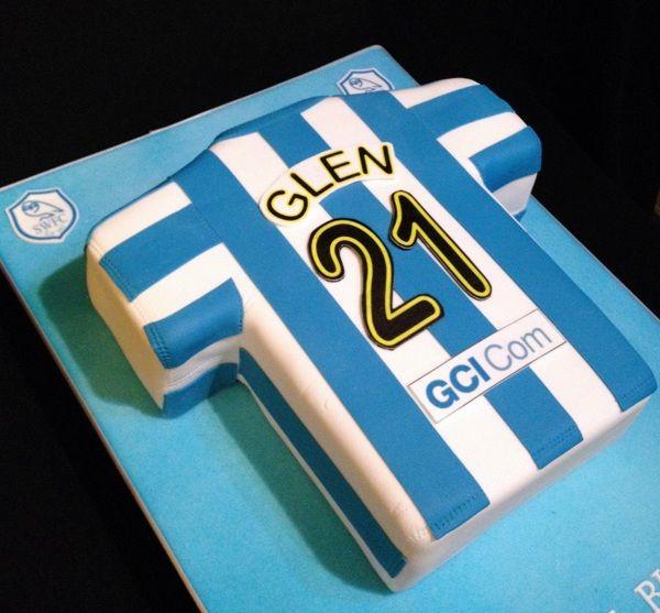 Sheffield Wednesday Football Cake by Nicola Cooper, via Behance