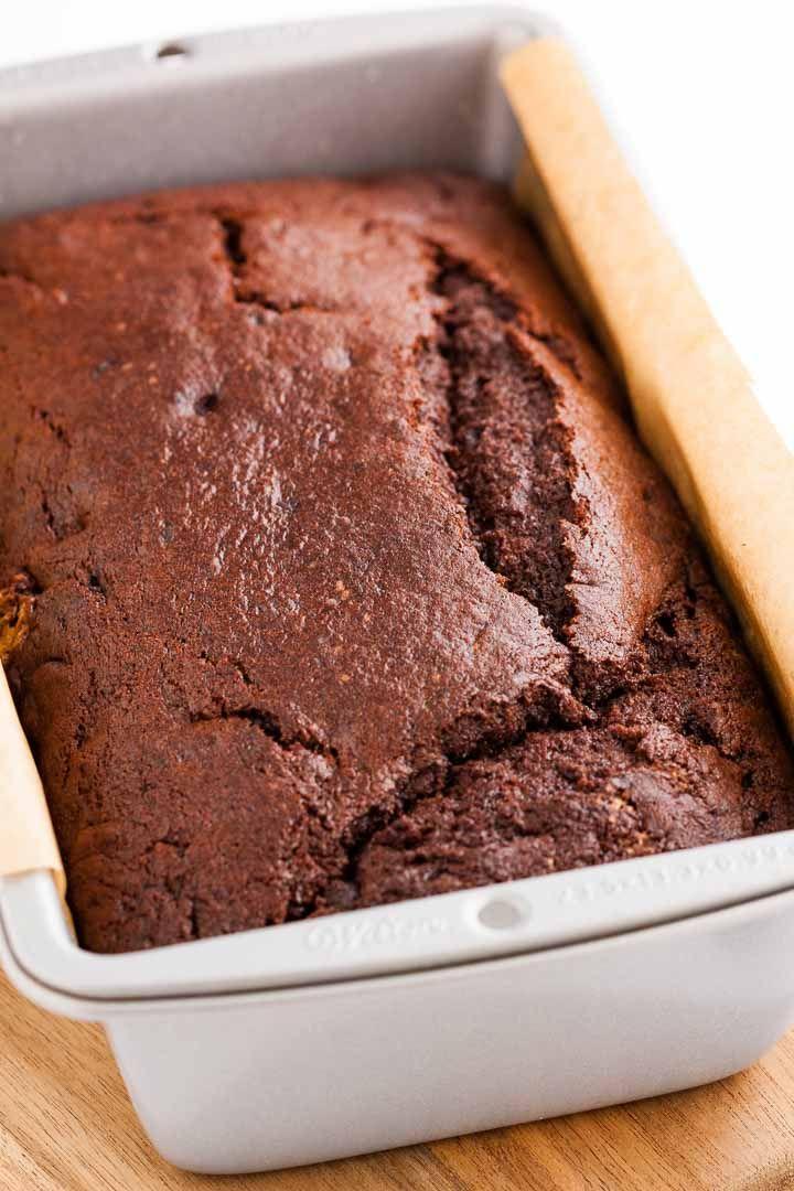 Chocolate Banana Bread Is So Moist And Flavorful Dutch Process Cocoa Powder Chocolate Chi Chocolate Banana Bread Chocolate Banana Chocolate Chip Banana Bread
