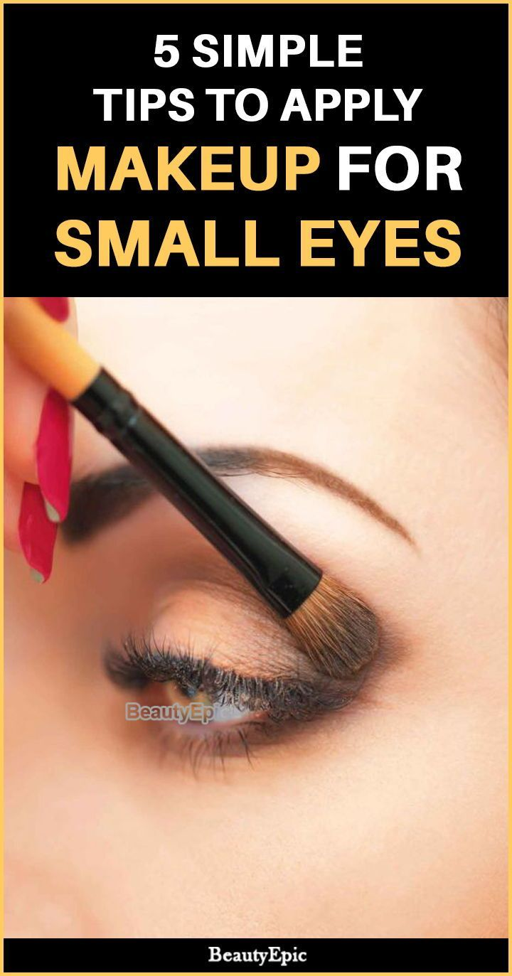 10 Simple Tips to Apply Makeup For Small Eyes  Makeup for small