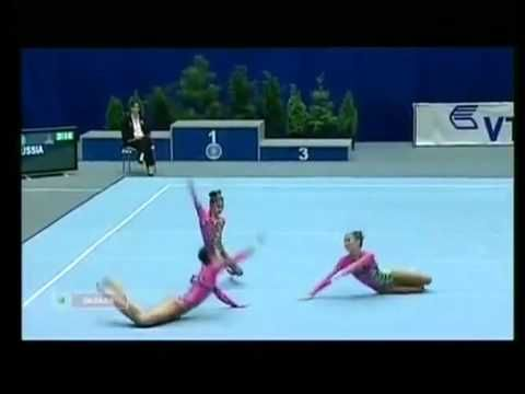 Russian's and their gymnastics!  crazy!! but amazing