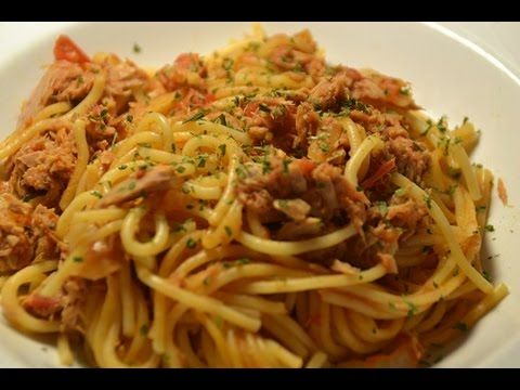 Spaghettis thon weight watchers recette cookeo |
