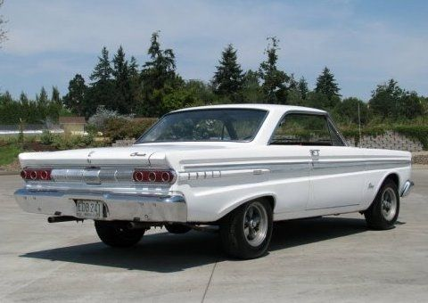 66 comet cyclone   The later 302 V8 is dressed nicely but likely needs replacement ...