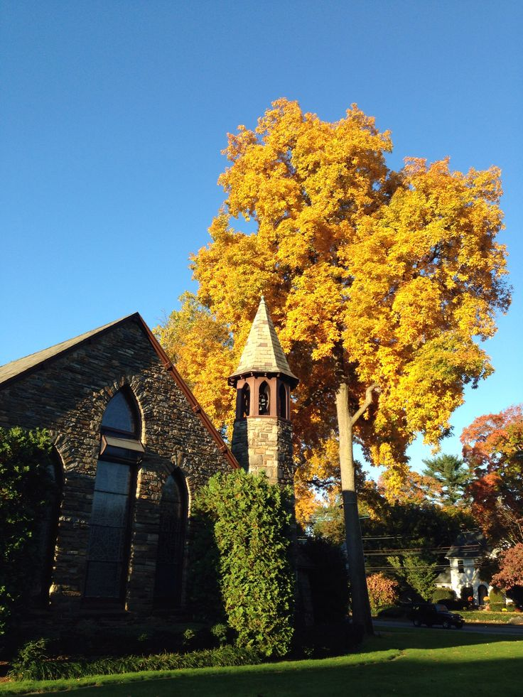 Grace church in Montclair, New Jersey ... Fall 2013
