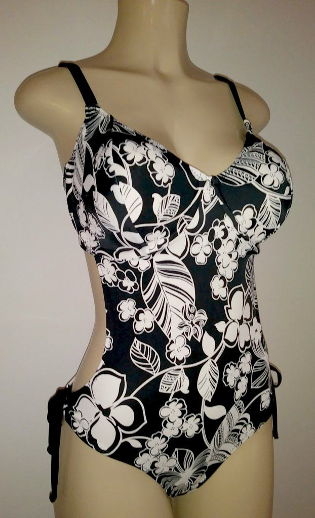 56d9ca10a3d Cutaway monokini underwire swimsuit. Bigger bust size swimsuits. Long and  short one piece monokinis.
