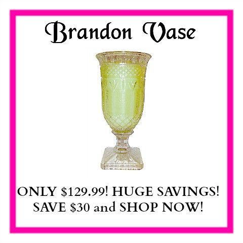 Brandon Vase #accents #air-freshener #aroma #aromatherapy #aromatic #brandon #decor #elegance #essesence #famous #fragrance #gift #giftware #glasses #glassware #home #home-decor #home-made #homeware #house #incense #inspirational #intoxicating #louisiana #new-orleans #odor #perfume #premium #refill #refillable #scent #smell #soothing #south #stunning #vanilla #vanilla-sugar-cookie #victorian #wax #wedding