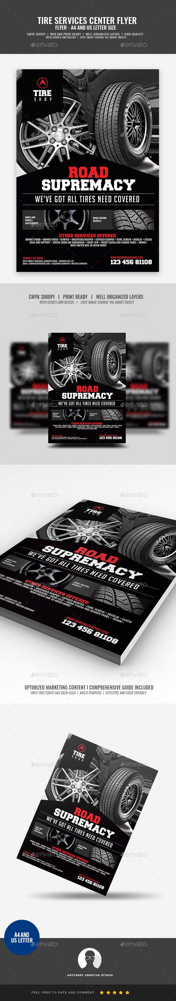 Tire Shop Flyer Tire Shop Flyer Design Template Boost your company¡¯s sales and attract new customers! This Tire Shop Flyer Design Template have been developed to boost your Ultimate Marketing Opportunity and brand/product awareness, Perfect for large and small businesses, well-studied with effective marketing content.A FLYER TEMPLATE THAT HAS A COPY READY MARKETI