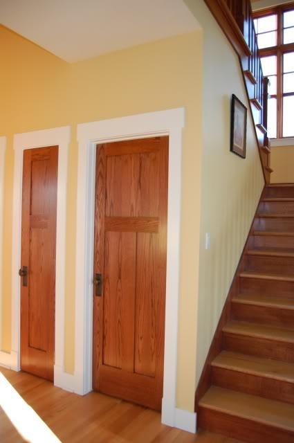 Oak Door White Trim Like Our Oak Doors But Would Like