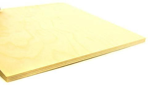 Midwest Craft Plywood Sheets (3/8 In.) - 12 In. x 12 In.