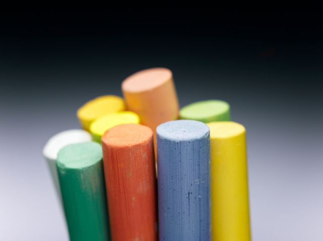 Make Your Own Colored Chalk with This Cool Chemistry Experiment: You can make colored chalk yourself.