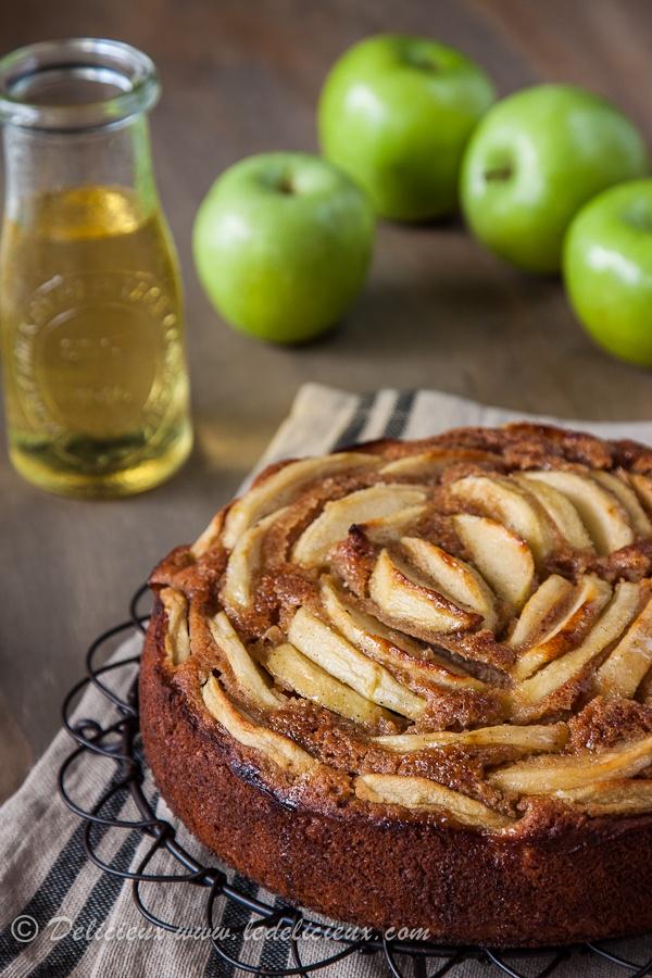 Apple Cider Cake by ledelicieux #Cake #Apple_Cider