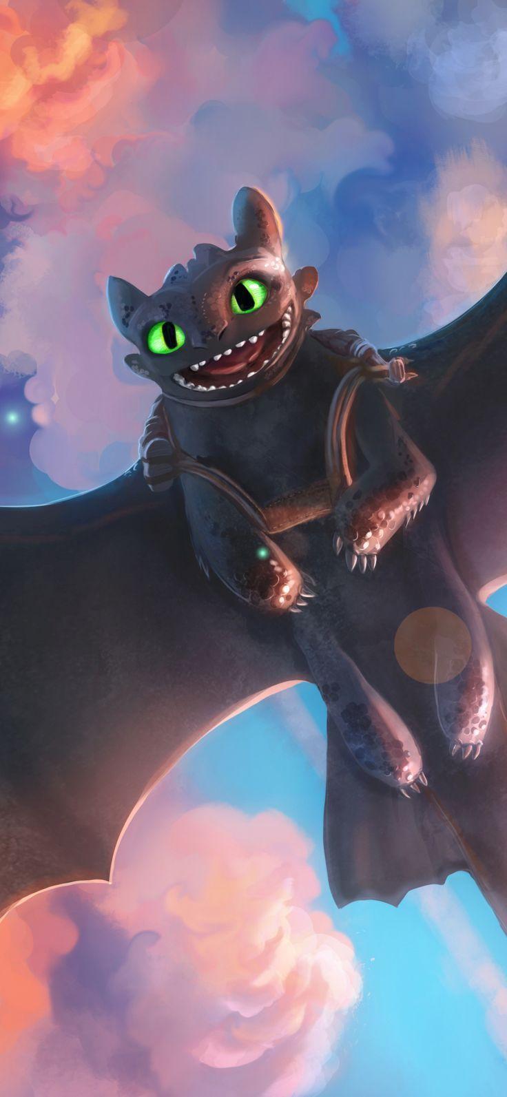 Wonderful Wallpaper Toothless Night Fury Dragon How To Train