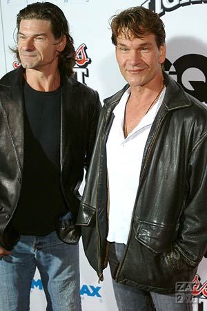 The late Patrick Swayze and his brother Ron