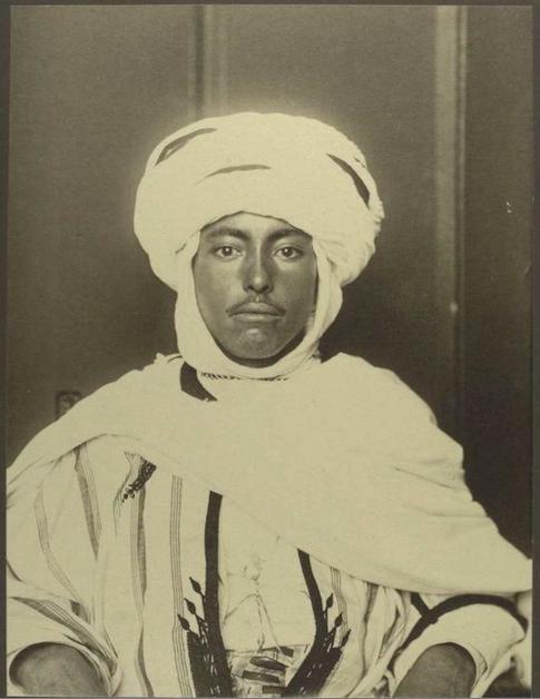 Photo d'un immigré algérien aux Etats-Unis... il y a plus d'un siècle!   #Algeria
