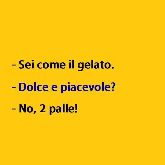Risposte spiazzanti. (by @cittacazzate) #tmlplanet #ragazzi #ragazze #gelato