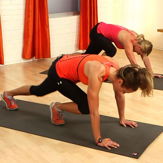 Torch Fat With This 10-Minute Tabata Workout - totally doable in your bedroom
