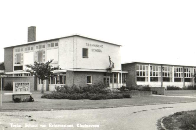 Esdal College: Ruim 61 jaar voortgezet onderwijs aan van Echtenstraat 22