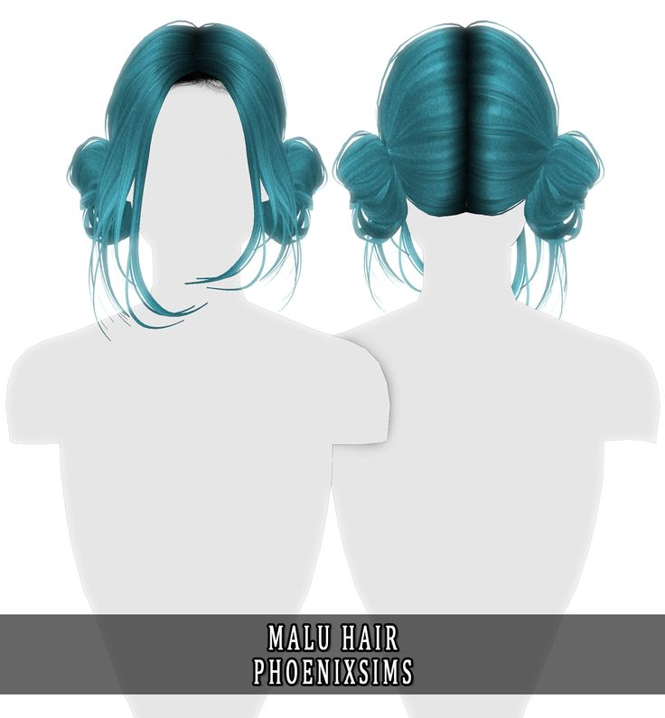 Phoenix-Sims — MALU HAIR 30 swatches; HQ mod suitable; Customized…