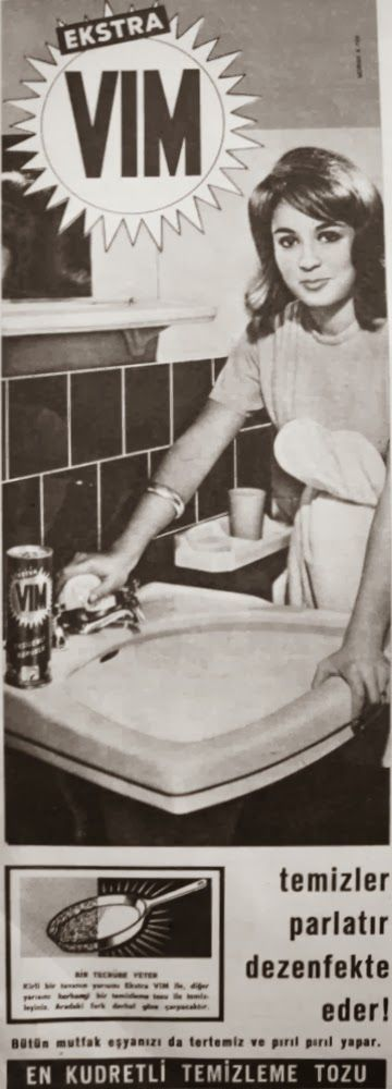 OĞUZ TOPOĞLU : vim 1963 nostaljik eski reklamlar