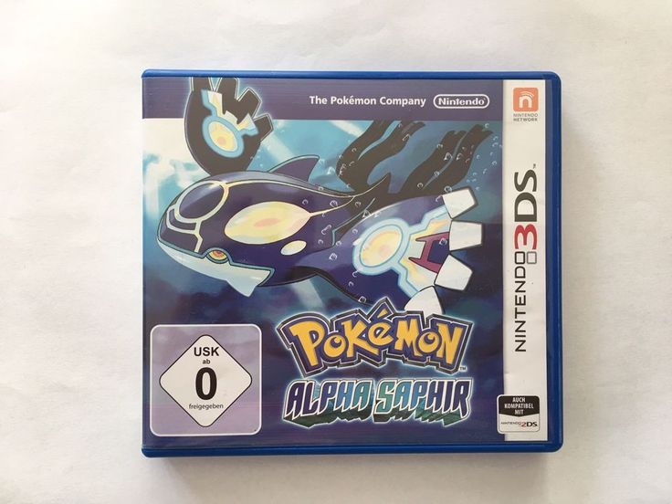 Pokémon: Alpha Saphir (Nintendo 3DS, 2014, Keep Case) in PC- & Videospiele, PC- & Videospiele   eBay!