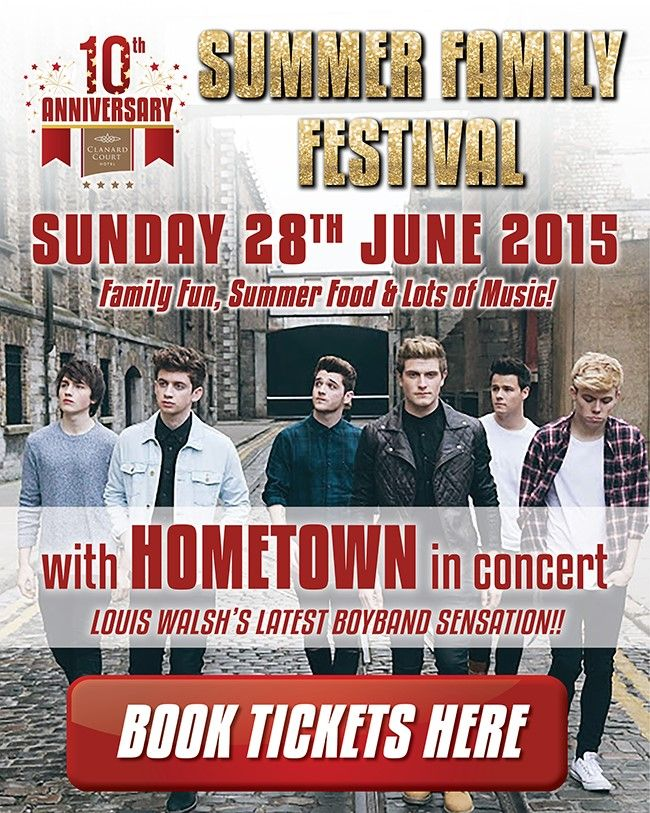 SUMMER FAMILY FESTIVAL with HomeTown in concert