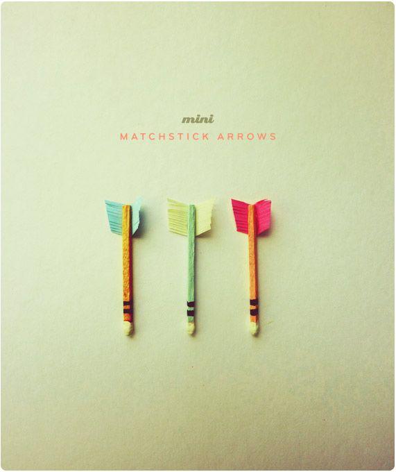 Miniature Matchstick Arrows  