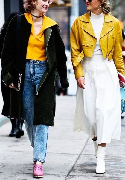 Although we've already established the major, fresh-off-the-runway hues that will be everywhere this season, there's one other shade already trending. We've noticed yellow is becoming a color to be reckoned with .. shop our favorite pieces
